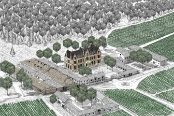 波尔多左岸玛歌产区头等苑三级名庄肯德布朗酒庄 开启生态环保酒窖计划